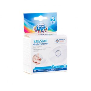 Canpol babies Προστατευτικό Θηλών Σιλικόνης σε Θήκη EasyStart , 2 ΤΜΧ Small