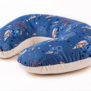 Palulli Μαξιλάρι θηλασμού DREAM CATCHER BLUE