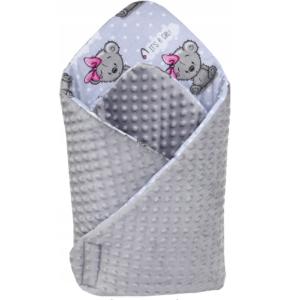 Κουβερτάκι αγκαλιάς – Υπνόσακος ITS A GIRL (MINKEY)