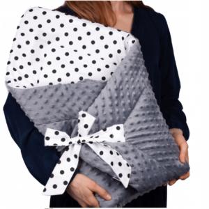 Κουβερτάκι αγκαλιάς – Υπνόσακος POUA (MINKEY)