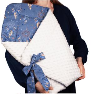 Κουβερτάκι αγκαλιάς – Υπνόσακος DREAM CATCHER  (MINKEY)