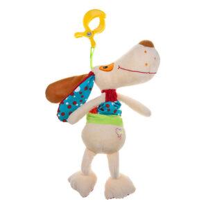 Akuku Κρεμαστό Μουσικό παιχνίδι με κλιπ, σκύλος-DOG