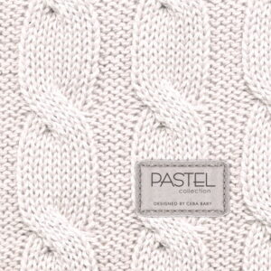 Ceba baby αλλαξιέρα σκληρή PASTEL COLLECTION CABLE STITCH BEIGE 50×80