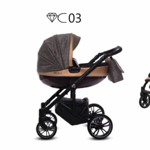 Καρότσι BabyActive – CHIC 2 σε 1 C03