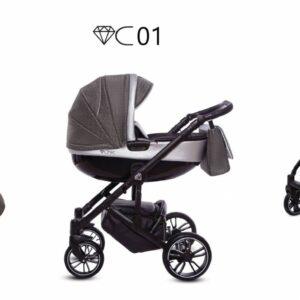 Καρότσι BabyActive – CHIC 2 σε 1 C01