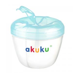 Akuku δοχείο αποθήκευσης σκόνης γάλακτος-BLUE-GREEN