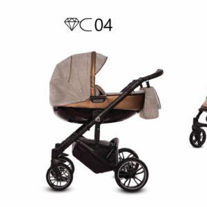 Καρότσι BabyActive – CHIC 2 σε 1 C04
