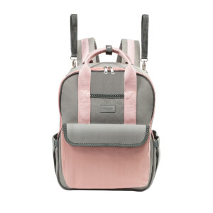 BabyOno Τσάντα αλλαξιέρα – London look – pink