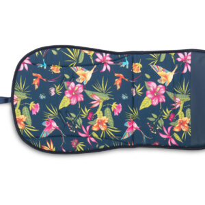 Sensillo Κάλυμμα – Στρώμα για καρότσι 2 όψεων –  hummingbird navy blue