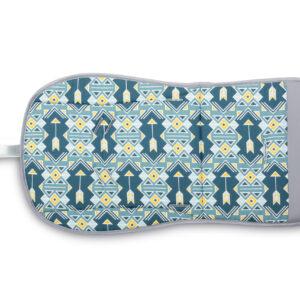 Sensillo Κάλυμμα – Στρώμα για καρότσι 2 όψεων -ornament navy blue