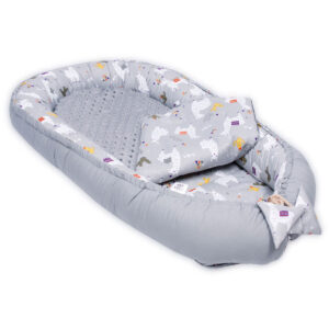 Palulli Φωλίτσα ύπνου μωρού σετ 5 σε 1 – MINKY  LAMA