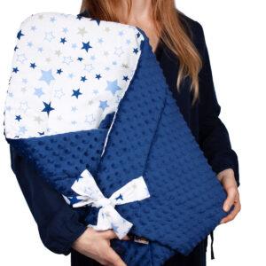 Κουβερτάκι αγκαλιάς – Υπνόσακος BLUE STARS