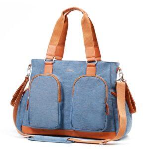 Babyono τσάντα αλλαξιέρα Glam Sky Blue BN1506/01