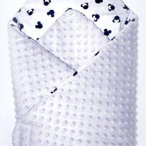 Κουβερτάκι αγκαλιάς – Υπνόσακος MICKY GRAY (MINKEY)