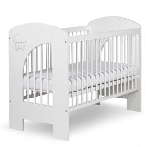 Βρεφικό Κρεβάτι KLUPŚ Cloud Λευκό 120X60