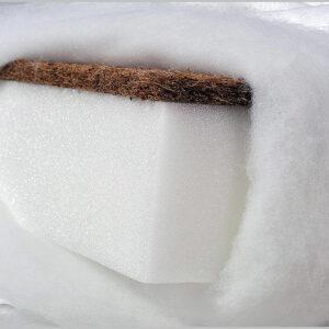 """Βρεφικό Στρώμα Κούνιας Καρύδας-Αφρού """"TAPI – KPW-06"""" 120×60"""