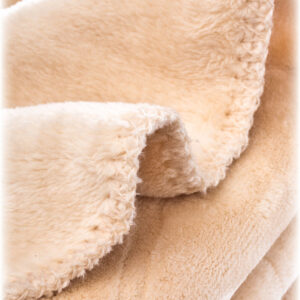 Sensillo Απαλή Βελούδινη Κουβέρτα 80x100cm – beige