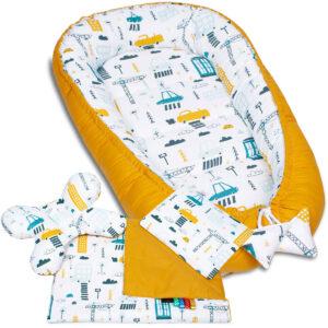 Palulli Φωλίτσα ύπνου μωρού σετ 5 σε 1 – CITY