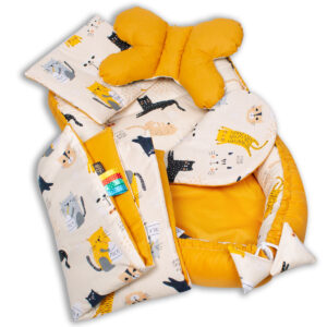 Palulli Φωλίτσα ύπνου μωρού σετ 5 σε 1 – CATS