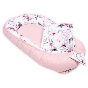 Palulli Φωλίτσα ύπνου μωρού σετ 5 σε 1 – FLOWER ROSE