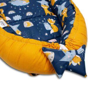 Palulli Φωλίτσα ύπνου μωρού σετ 5 σε 1 – FOX YELLOW
