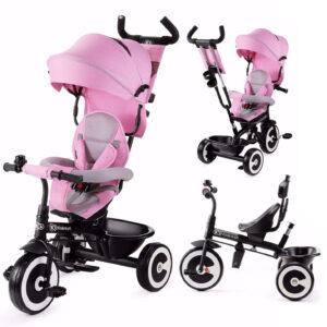 Kinderkraft Τρίκυκλο Ποδήλατο Aston Pink